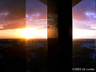 Orlando sunrise 5-27-2002 ©2002 - by cb cooke