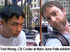 Tobias Wong and CB Cooke 2002 by CB Cooke